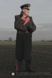German Officer Garbedine Greatcoat