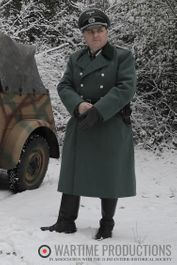 German Officer Winter uniform