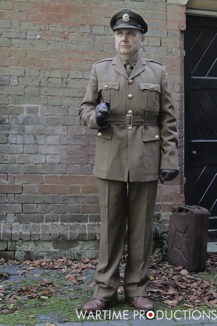 WW2 British Army Officer